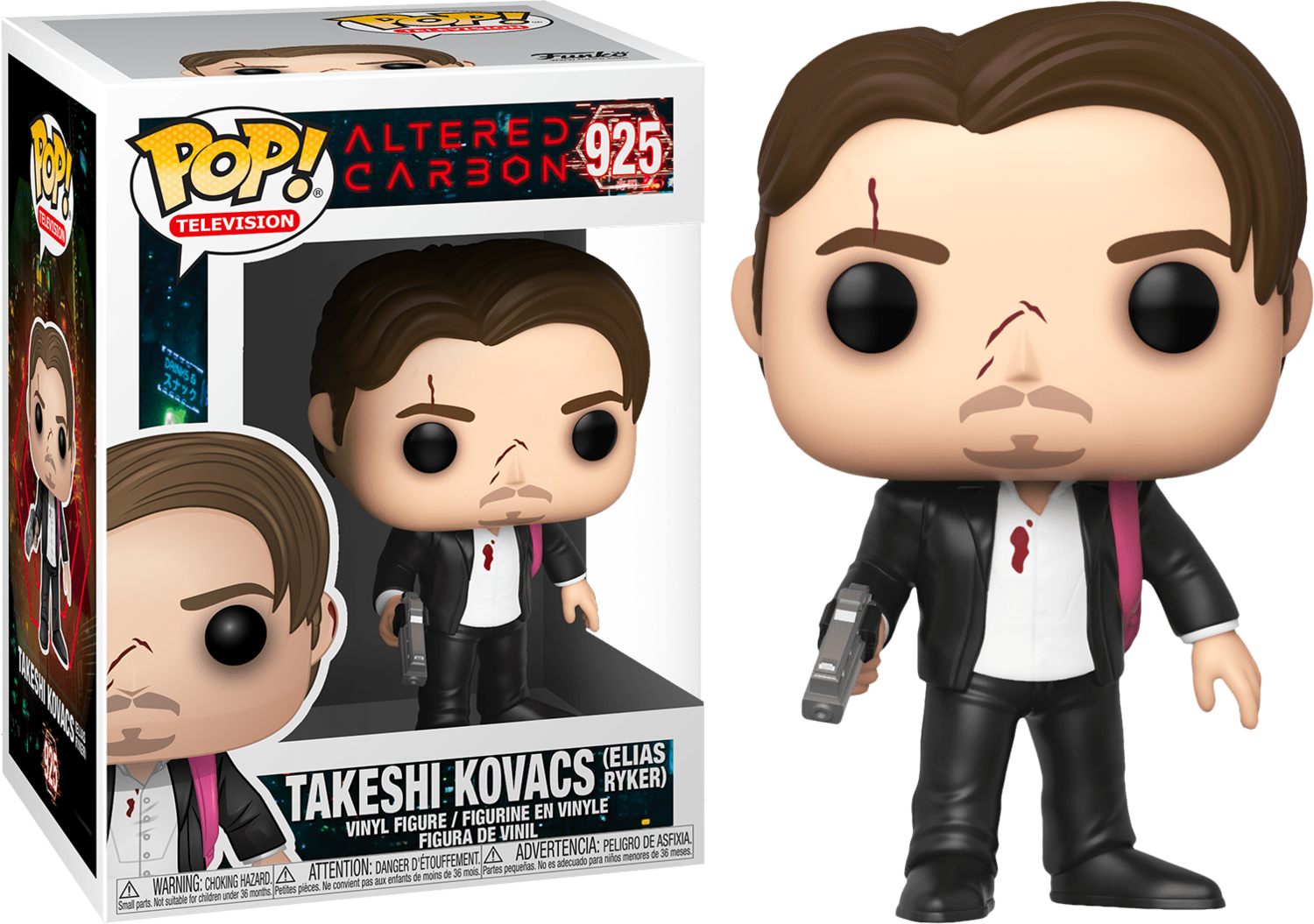 Funko Altered Carbon - Takeshi Kovacs (Elias Ryker) Pop! Vinyl Figure