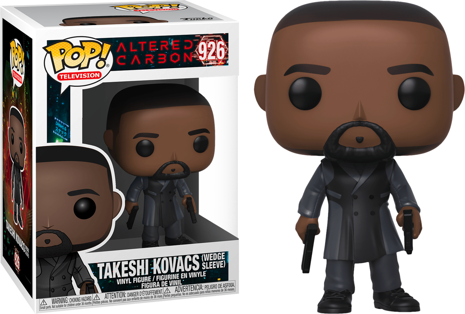 Funko Altered Carbon - Takeshi Kovacs Wedge Sleeve Pop! Vinyl Figure
