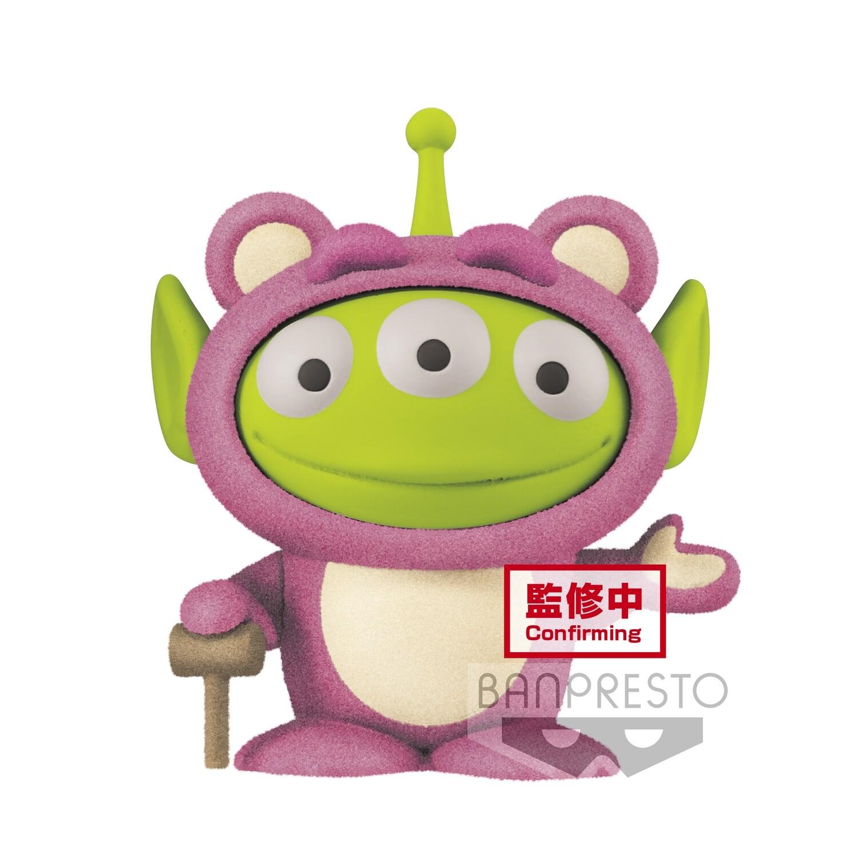 PRE-ORDER Pixar Characters Fluffy Puffy Mine Alien Remix Vol. 1 Alien Lotso Style