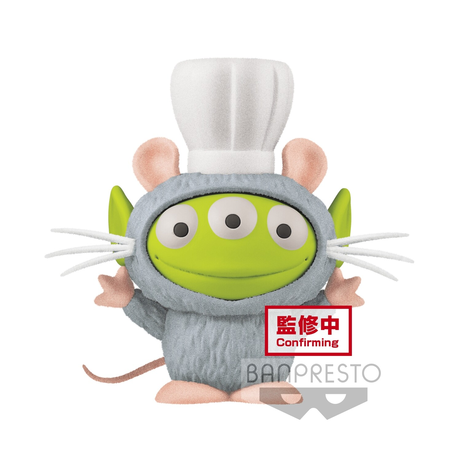 PRE-ORDER Pixar Characters Fluffy Puffy Mine Alien Remix Vol. 1 Alien Remy Style