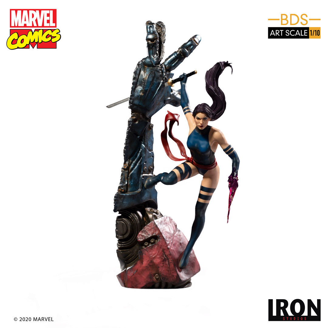 PRE-ORDER Iron Studios Psylocke BDS Art Scale 1/10 - Marvel Comics