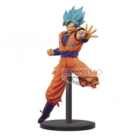 PRE-ORDER DB SUPER CHOSENSHIRETSUDEN VOL.4 (A) SSJ God Blue Goku