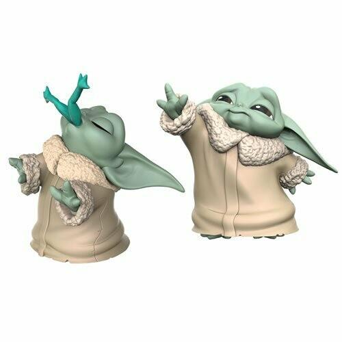 Hasbro Star Wars The Mandalorian Baby Bounties Frog and Force Mini-Figures