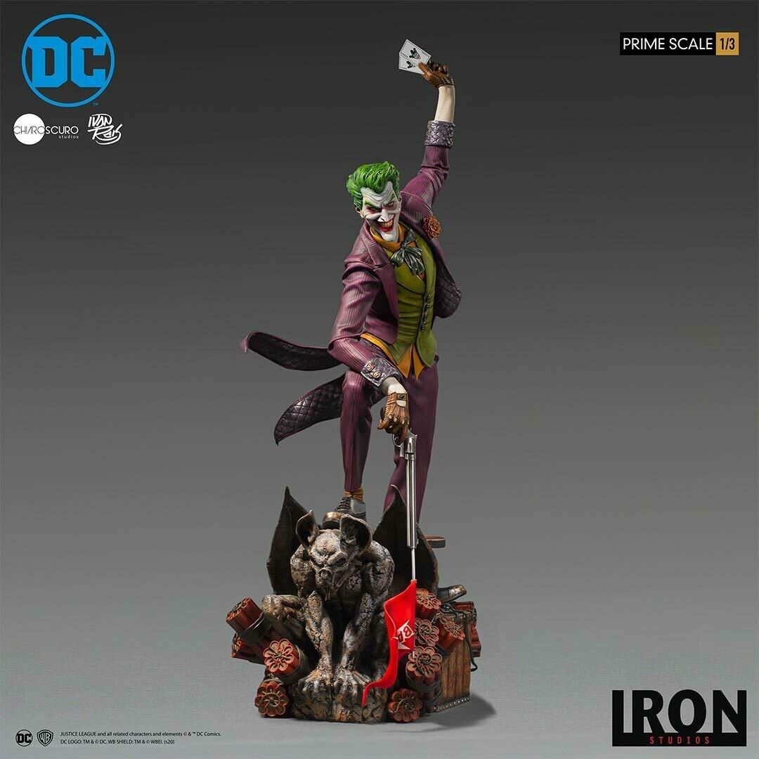 PRE-ORDER Iron Studios The Joker Prime Scale 1/3 - DC Comics by Ivan Reis
