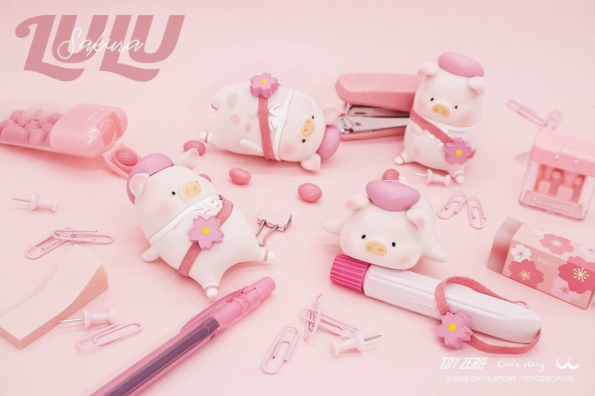 PRE-ORDER LULU the piggy - Sakura Series Blind Box of 8