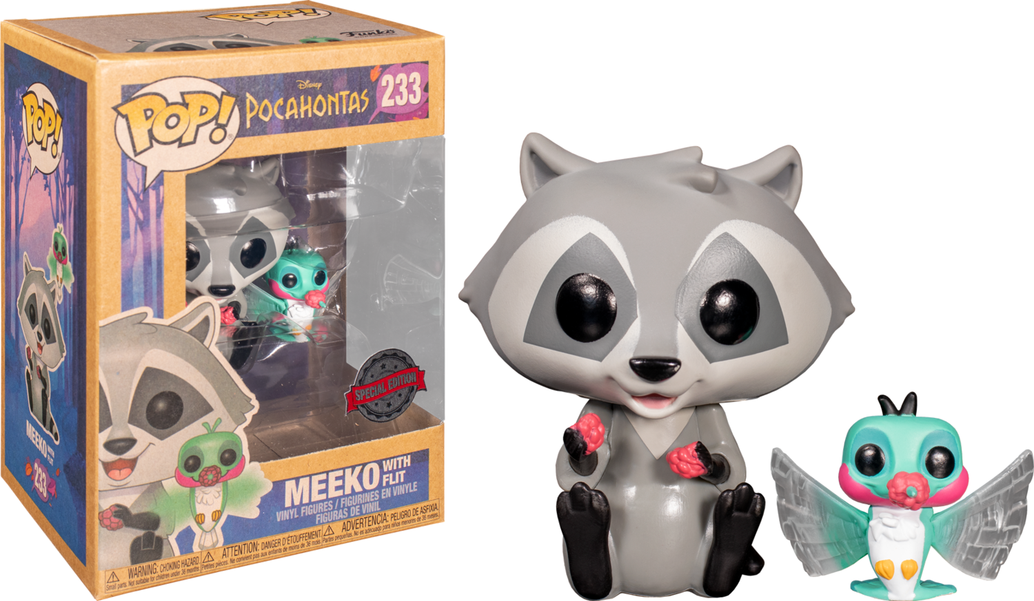 Disney Meeko with Flit Exclusive Pop! Vinyl Figure