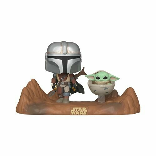 Star Wars: The Mandalorian and Child Pop! Vinyl Television Moment