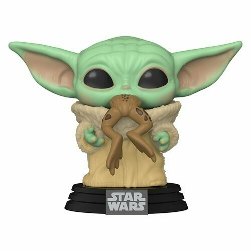 PRE-ORDER Star Wars: The Mandalorian The Child with Frog Pop! Vinyl Figure