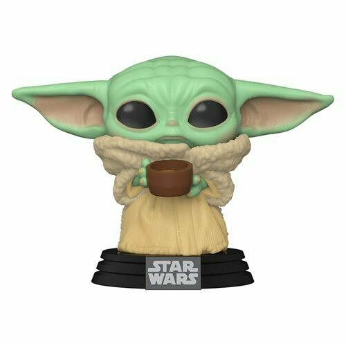 PRE-ORDER Star Wars: The Mandalorian The Child with Cup Pop! Vinyl Figure