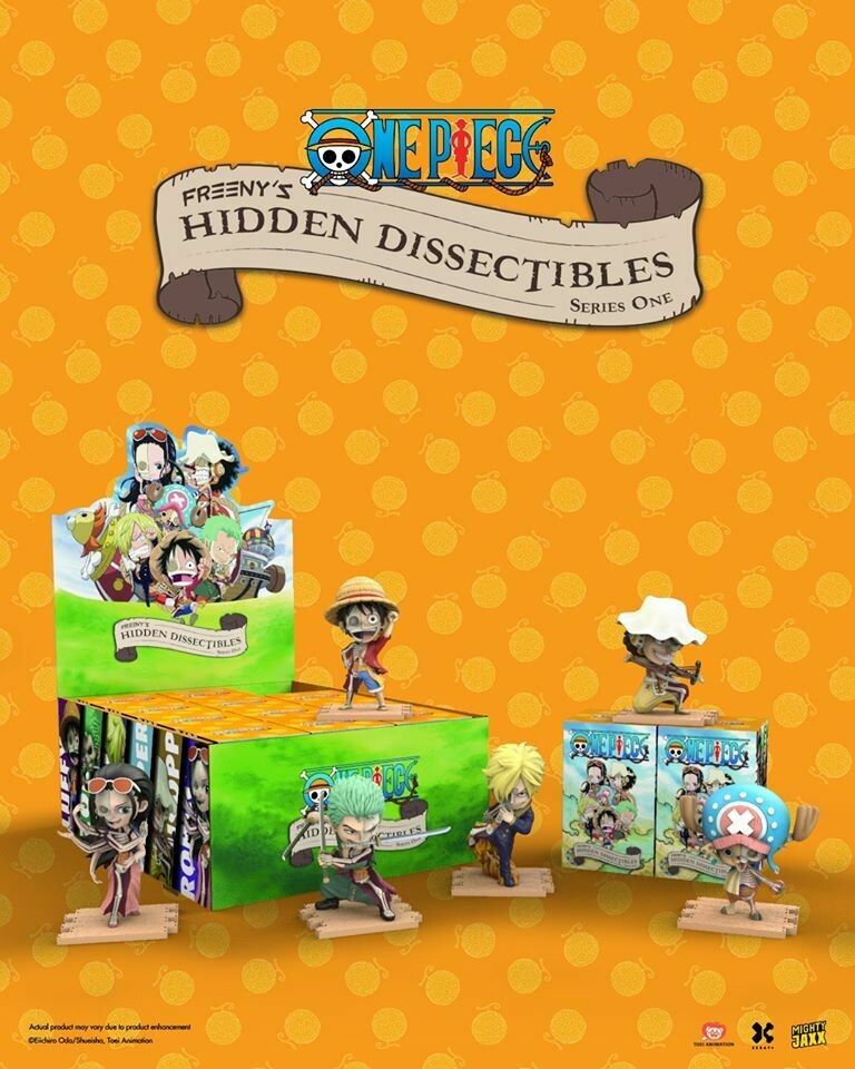 PRE-ORDER Freeny's Hidden Dissectibles: One Piece (box of 12)