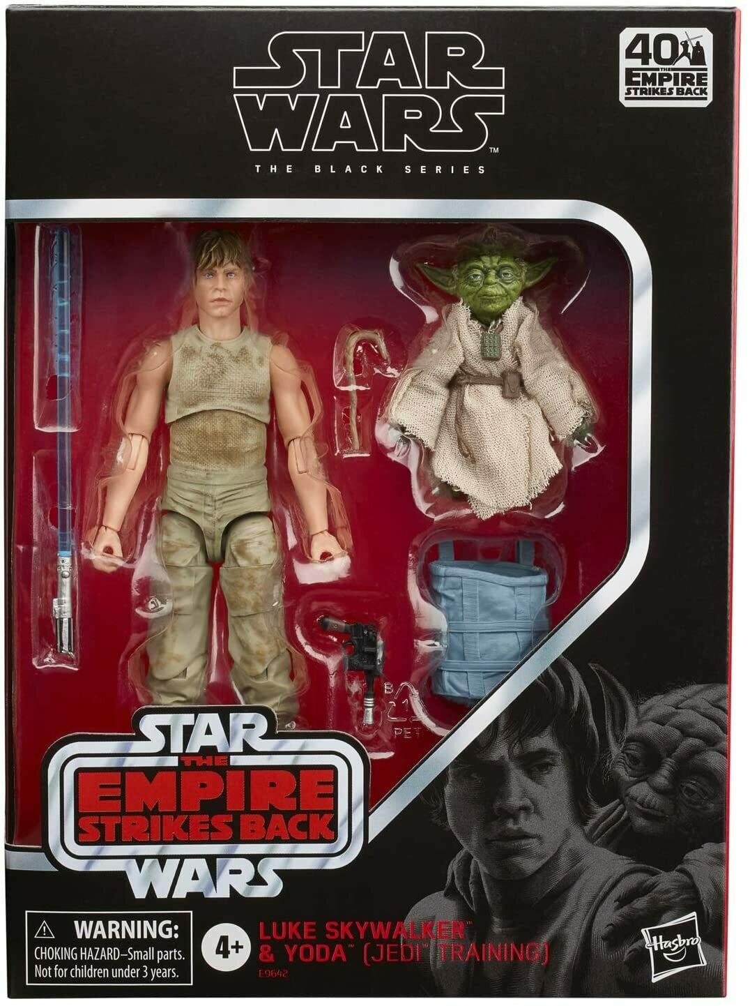 Hasbro Black Series Luke / Yoda Deluxe 2pack
