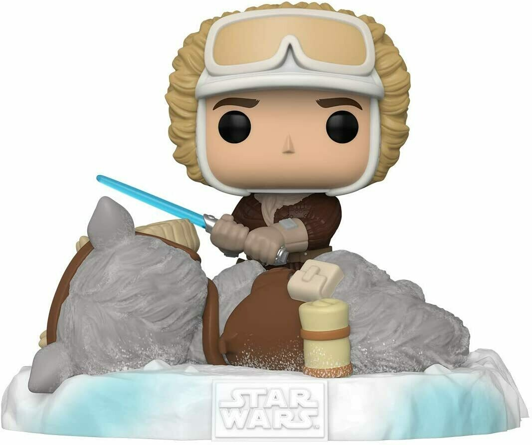 PRE-ORDER Funko Pop! Deluxe Star Wars: Battle at Echo Base Series - Han Solo and Taun Taun Exclusive