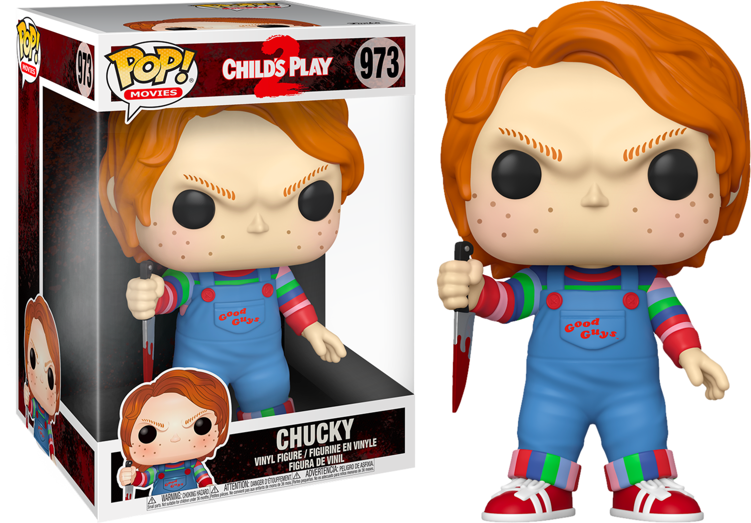 "Child's Play 2 - Chucky 10"" Pop! Vinyl Figure"