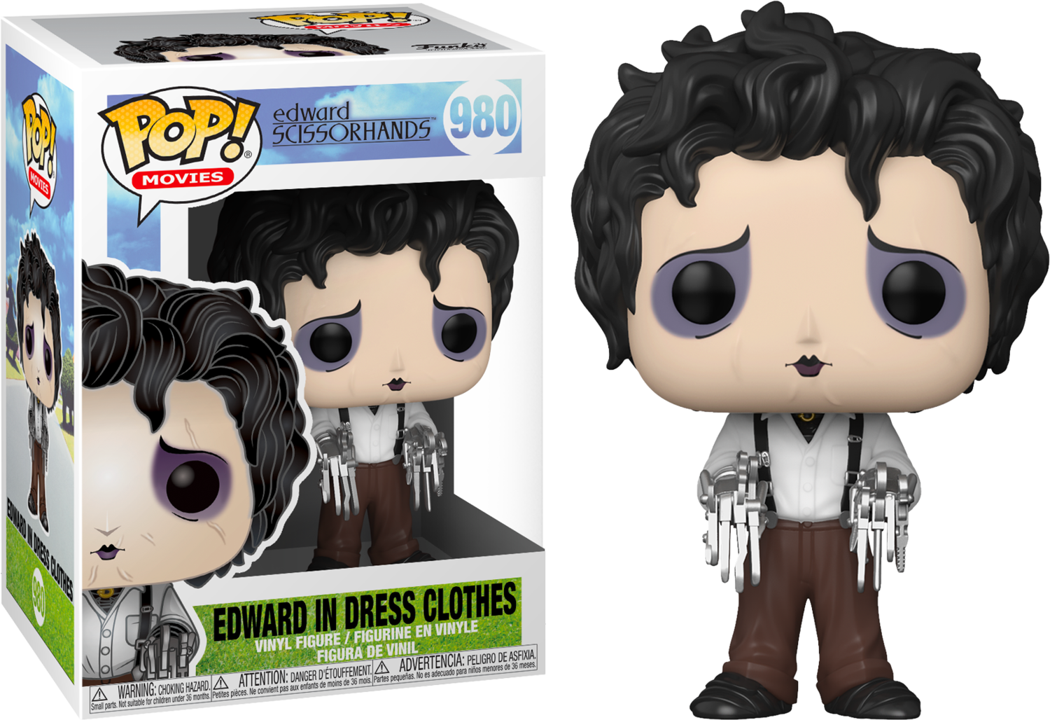 Edward Scissorhands - Edward Scissorhands in Dress Clothes Pop! Vinyl Figure