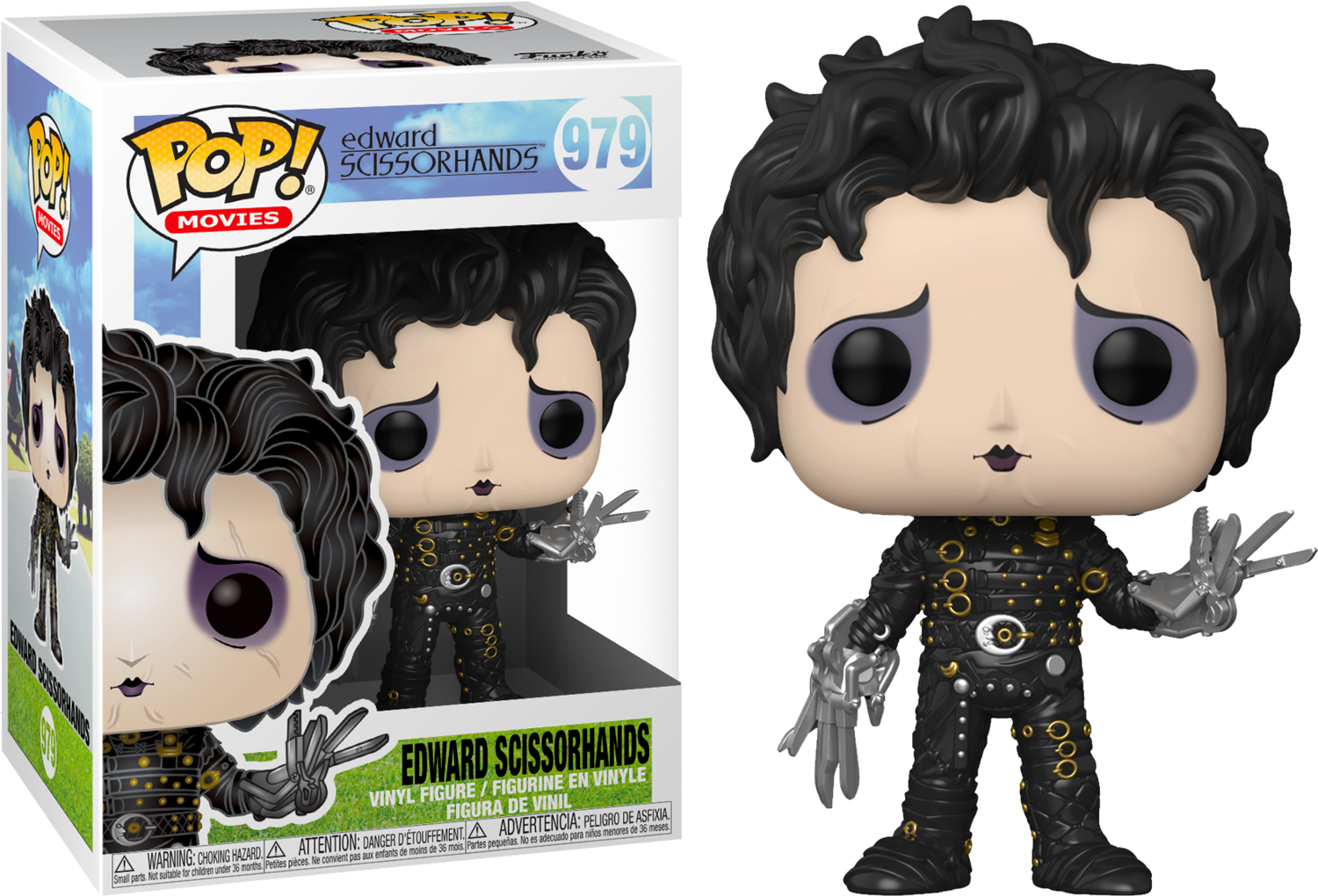 Edward Scissorhands - Edward Scissorhands Pop! Vinyl Figure