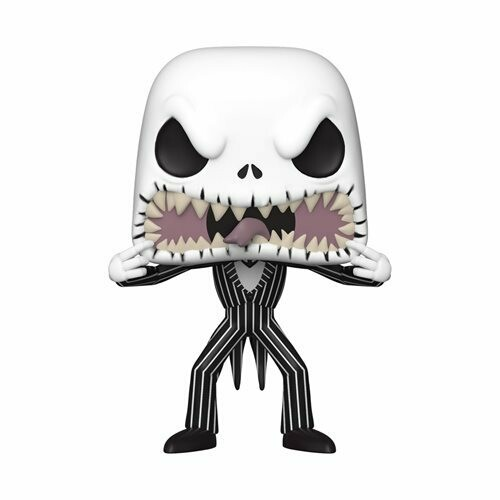 The Nightmare Before Christmas Jack Skellington Scary Face Pop! Vinyl Figure