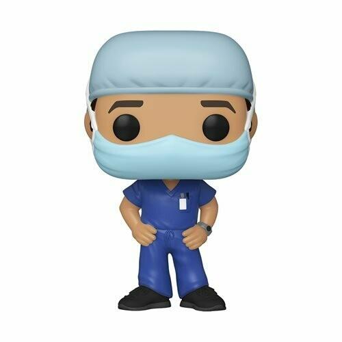 Funko Front Line Worker Male Hospital Worker #1 Pop! Vinyl Figure