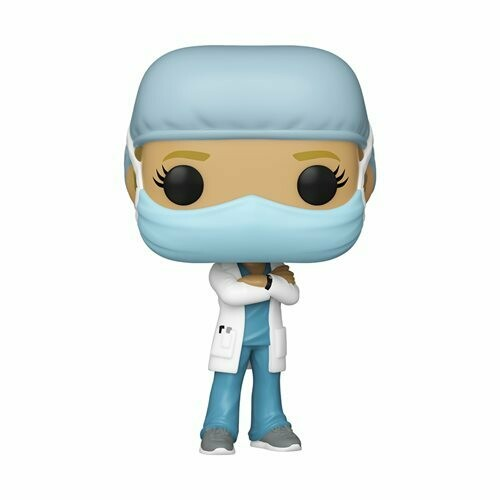 Front Line Worker Female Hospital Worker #1 Pop! Vinyl Figure