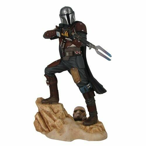 PRE-ORDER Diamond Select Star Wars Premier Collection The Mandalorian MK1 Statue