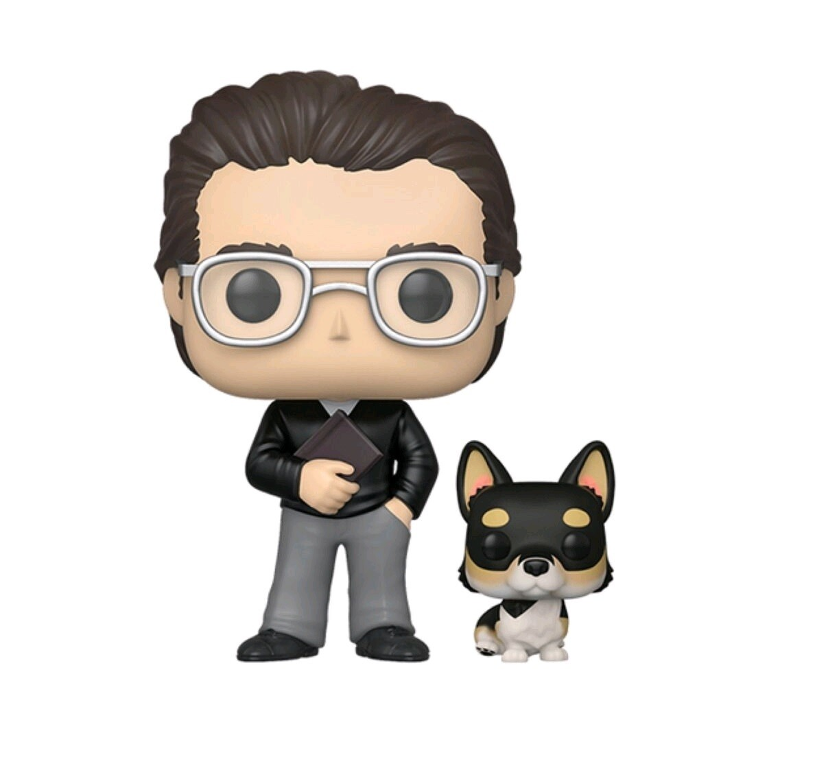 Funko Icons - Stephen King with Molly Exclusive Pop! Vinyl Figure