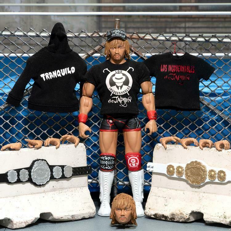 PRE-ORDER New Japan Pro-Wrestling Ultimates Wave 2 Tetsuya Naito