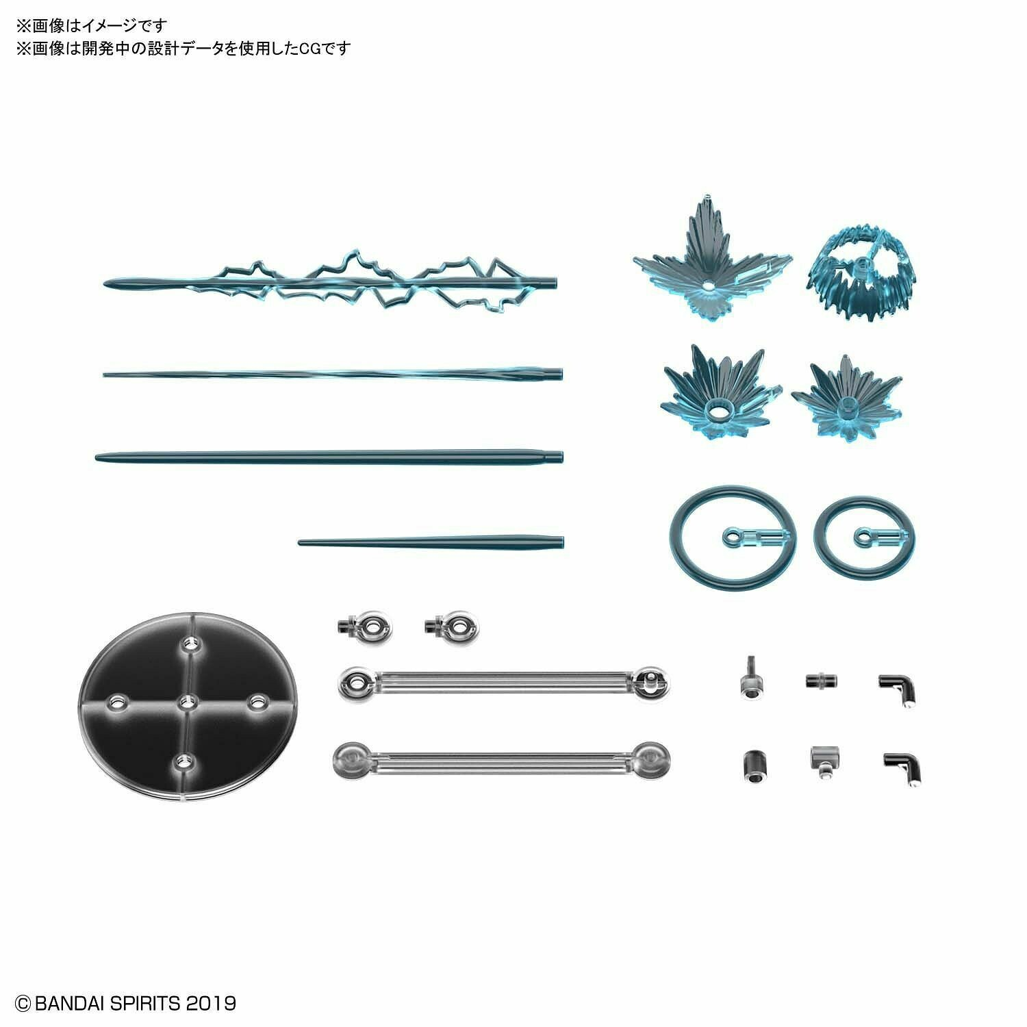PRE-ORDER CUSTOMIZE EFFECT (GUNFIRE IMAGE Ver.) [BLUE]