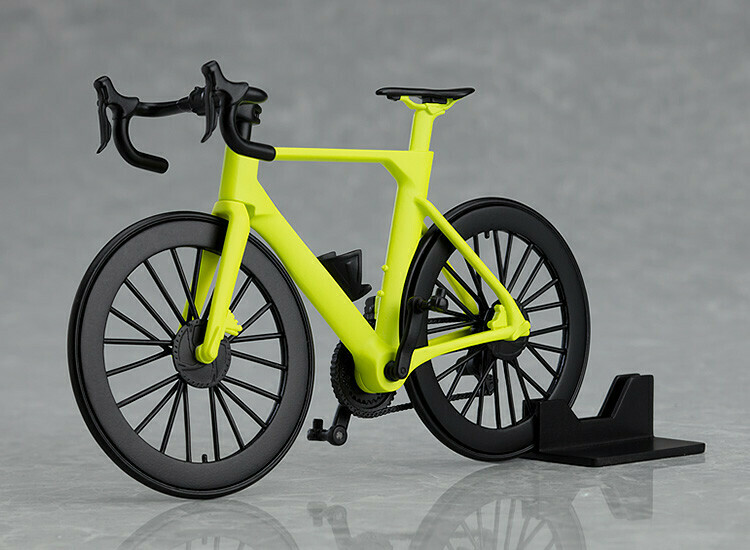 PRE-ORDER figma+PLAMAX Road Bike (Lime Green)