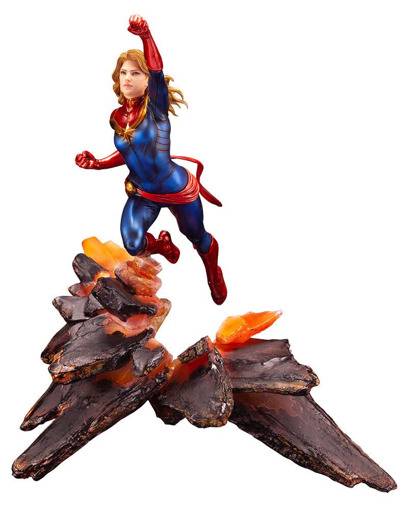 Kotobukiya Captain Marvel ArtFX Premier Statue