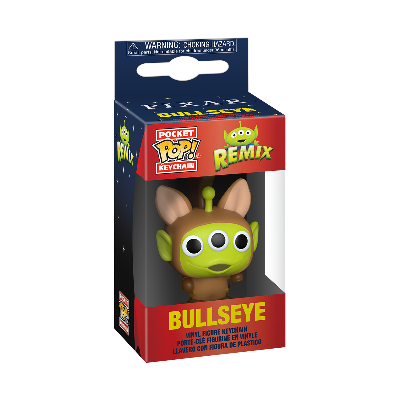 Disney: Pixar Alien Remix as Bullseye Pop Keychain