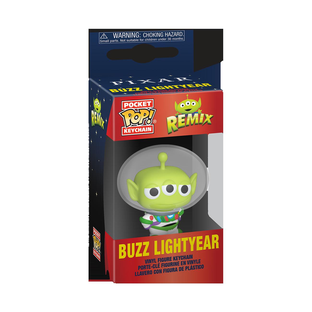 Disney: Pixar Alien Remix as Buzz Pop Keychain