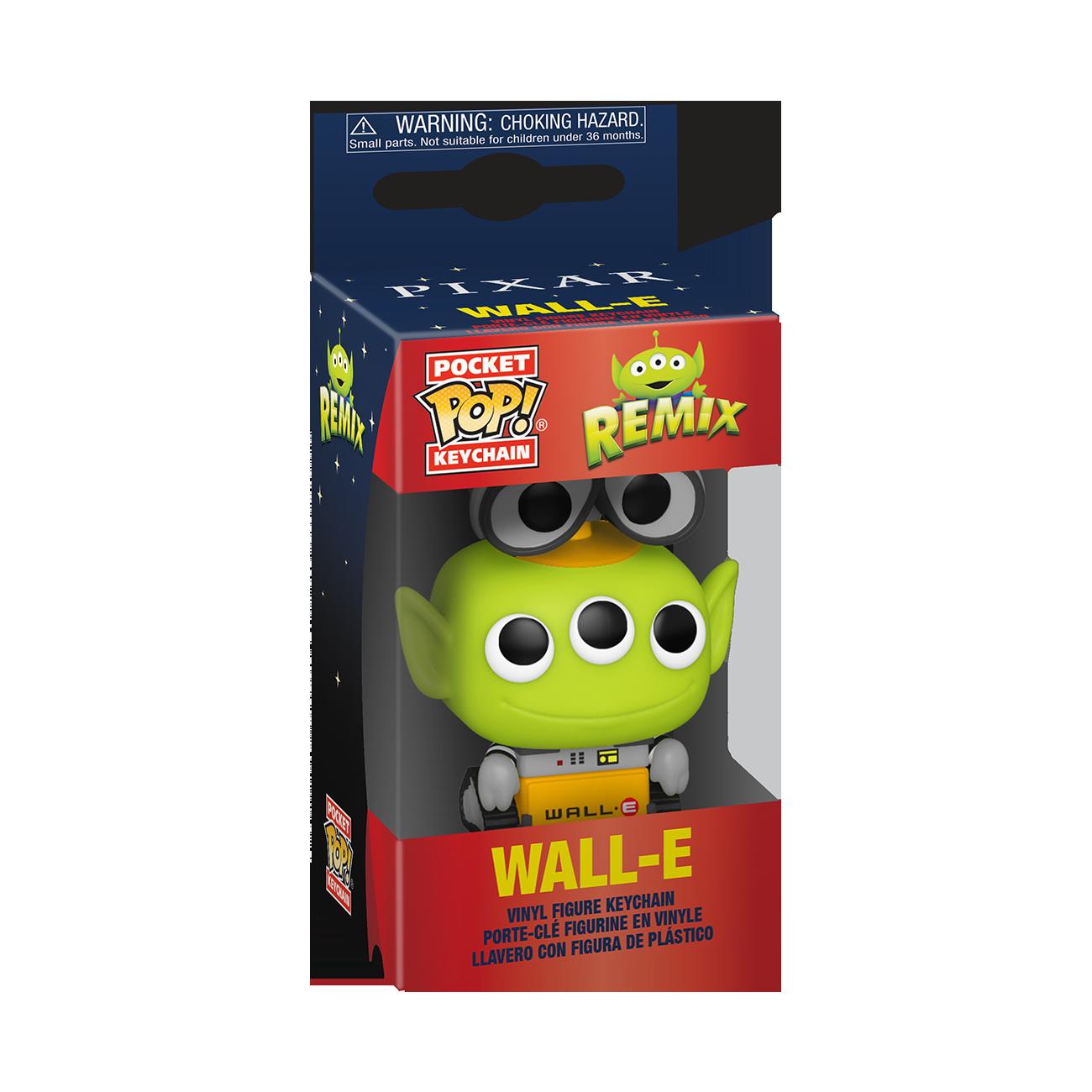 Disney: Pixar Alien Remix as Wall - E Pop Keychain