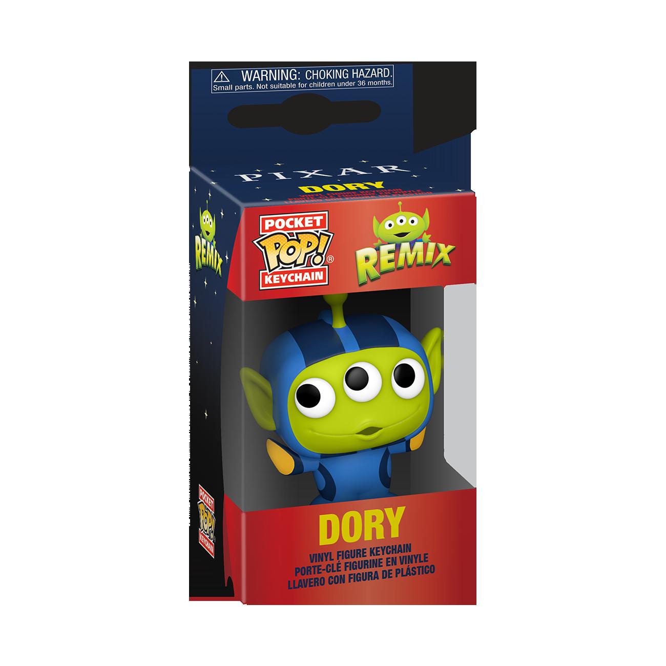 Funko Disney: Pixar Alien Remix as Dory Pop Keychain