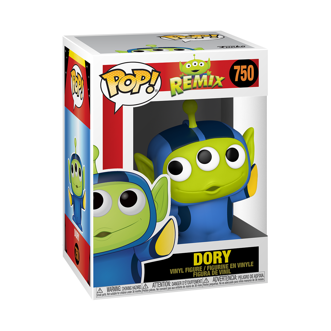 Funko Disney: Pixar Alien Remix as Dory Pop Vinyl Figure