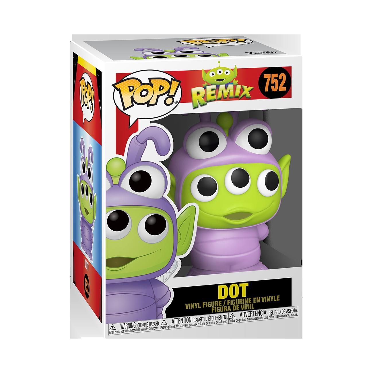 Disney: Pixar Alien Remix as Dot Pop Vinyl Figure