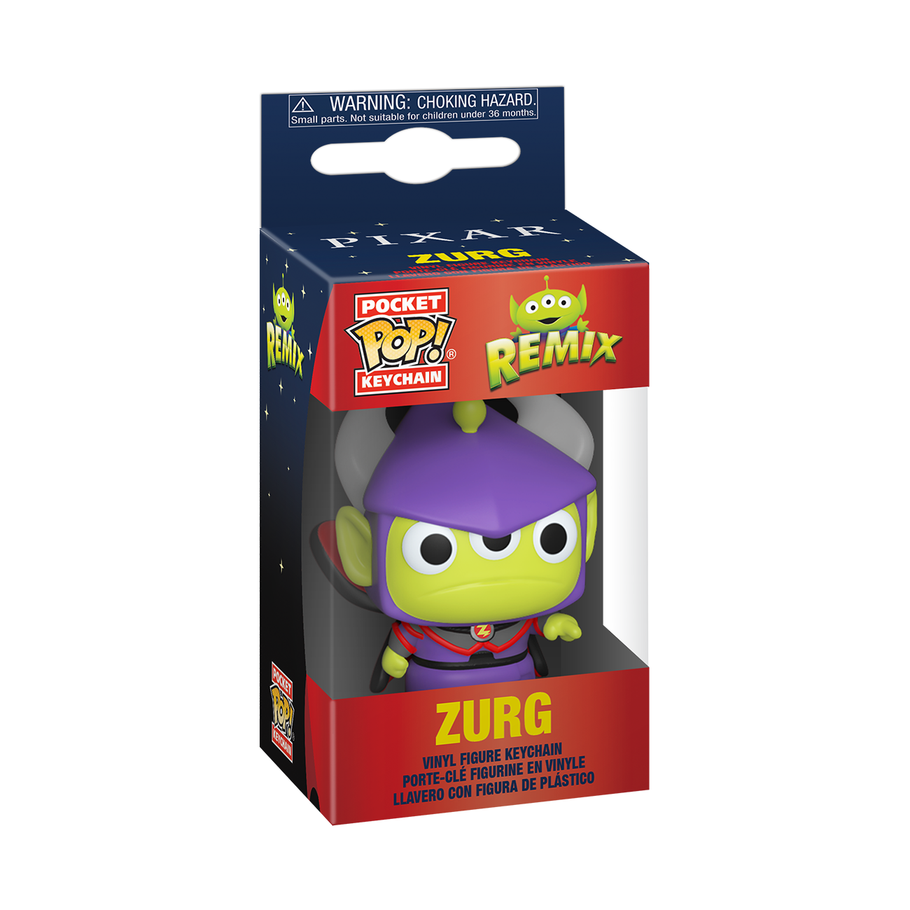 Disney: Pixar Alien Remix as Zurg Pop Keychain