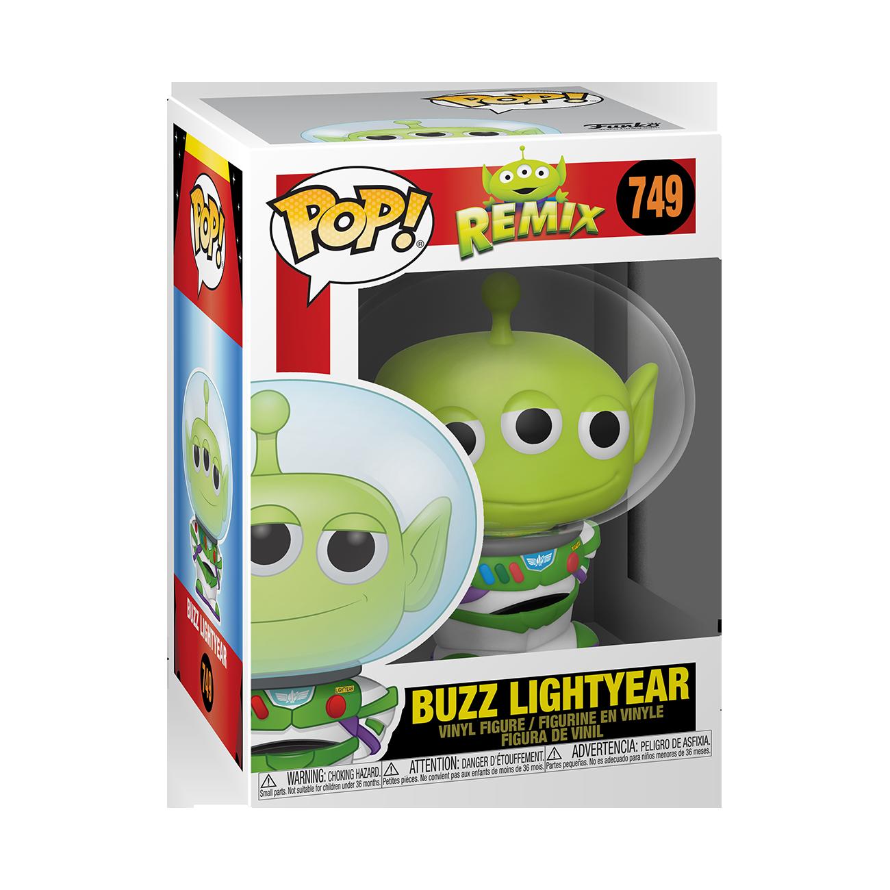Funko Disney: Pixar Alien Remix as Buzz Pop Vinyl Figure