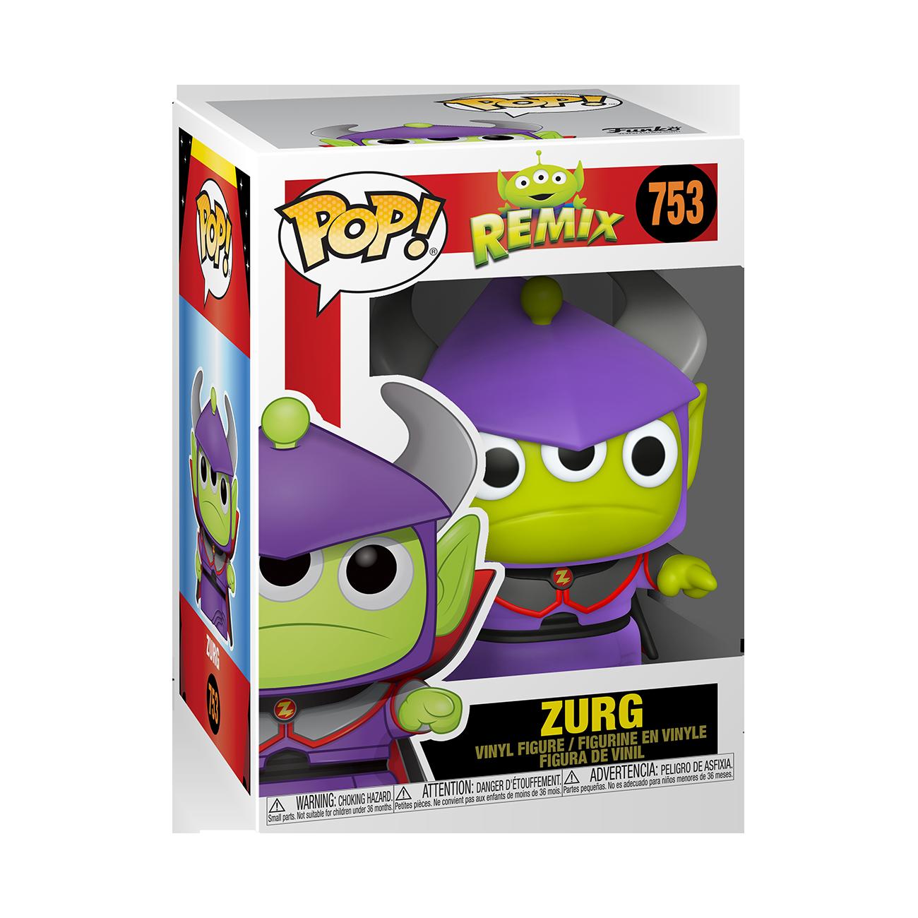 Funko Disney: Pixar Alien Remix as Zurg Pop Vinyl Figure