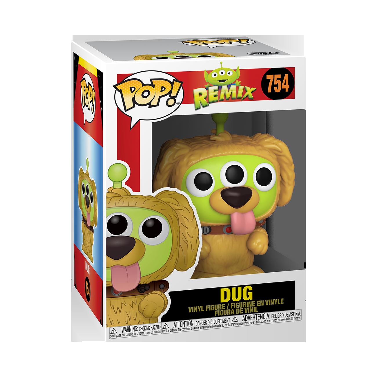 Funko Disney: Pixar Alien Remix as Dug Pop Vinyl Figure