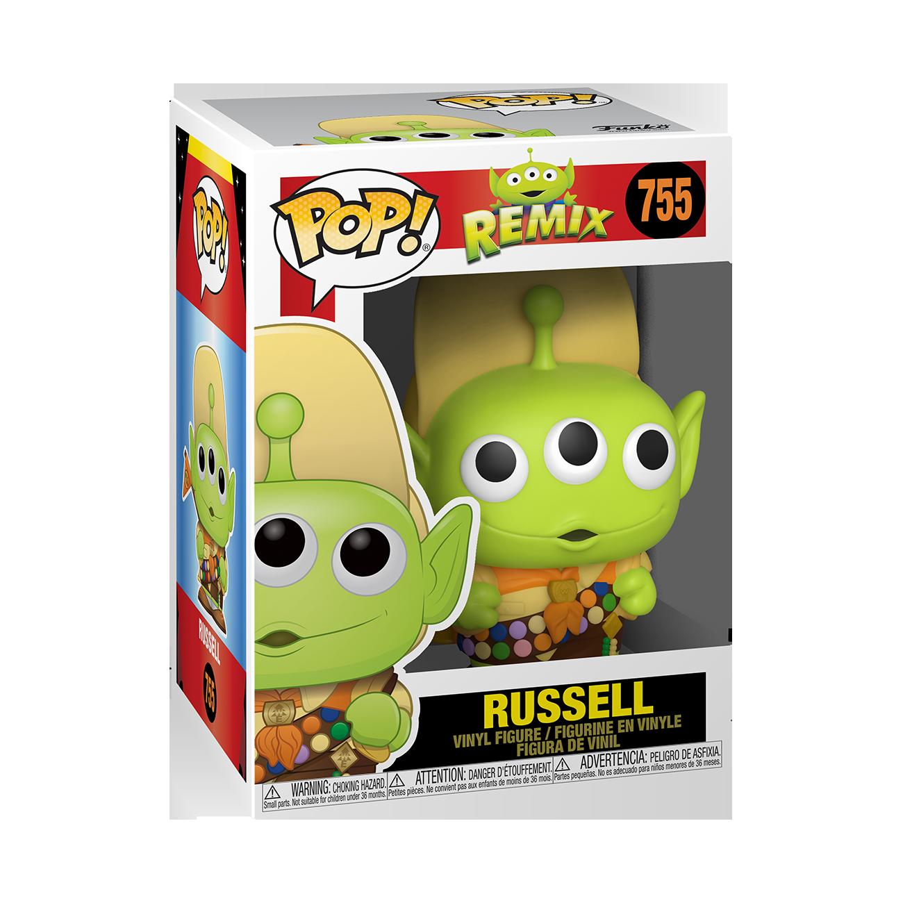 Disney: Pixar Alien Remix as Russel Pop Vinyl Figure