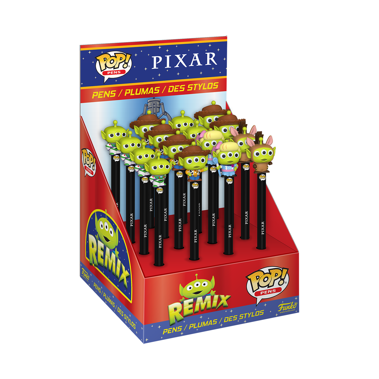 PRE-ORDER Pen Topper: Disney: Pixar Alien Remix Box of 16