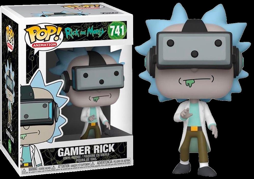 Rick and Morty - Gamer Rick Pop! Vinyl Figure