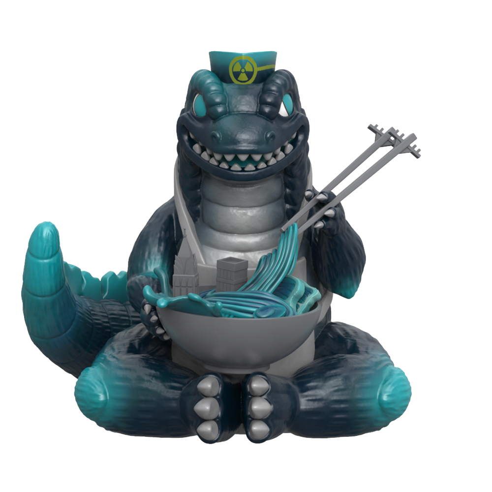 PRE-ORDER Mighty Jaxx Kaiju's Ramen (Nuclear Edition) by Ilustrata