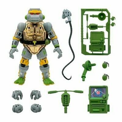PRE-ORDER Super7 Teenage Mutant Ninja Turtles Ultimates Metalhead 7-Inch Action Figure