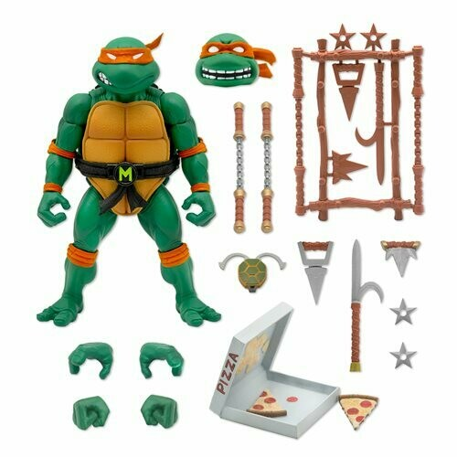 PRE-ORDER Teenage Mutant Ninja Turtles Ultimates Michelangelo 7-Inch Action Figure