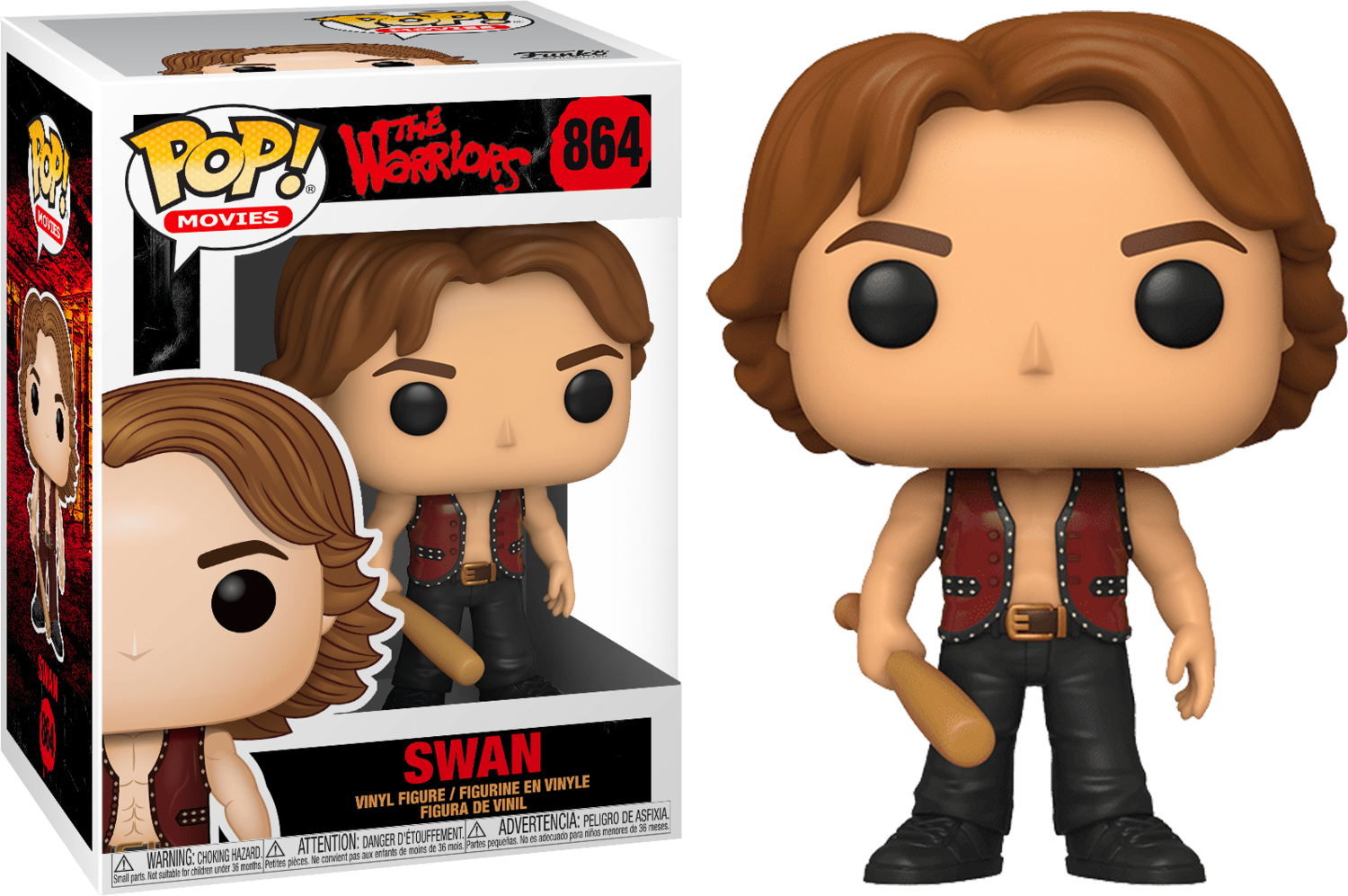 The Warriors - Swan Pop! Vinyl Figure
