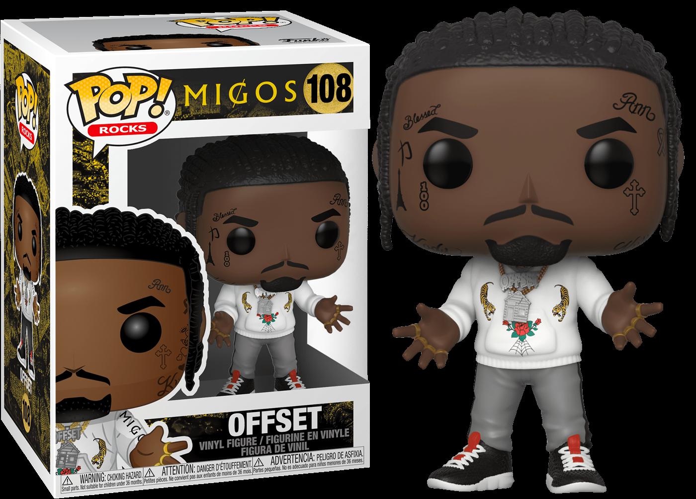 Funko Migos Offset Funko Pop! Vinyl Figure