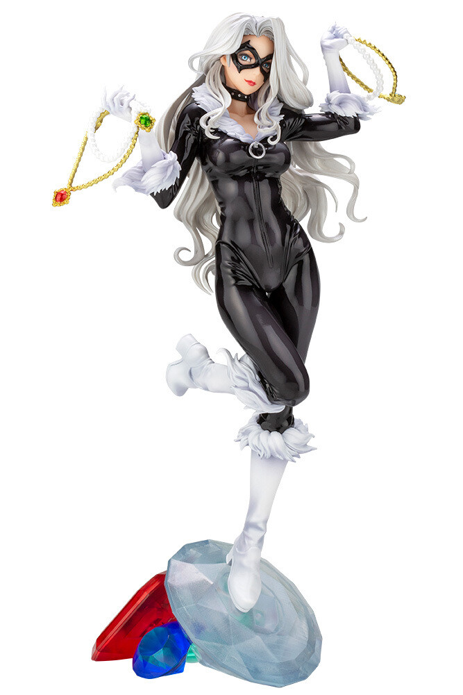 Kotobukiya MARVEL BLACK CAT Steals Your Heart BISHOUJO STATUE