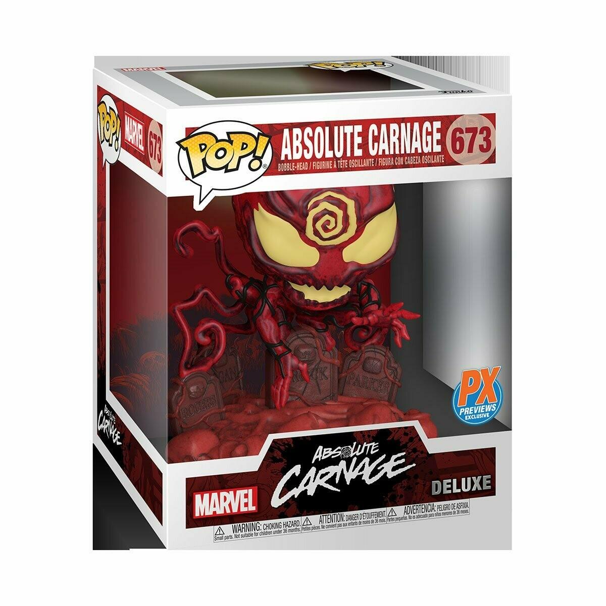 Funko Marvel Heroes Absolute Carnage Deluxe Pop! Vinyl Figure