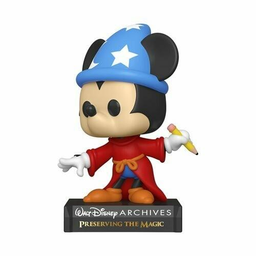 PRE-ORDER Disney Archives Sorcerer Mickey Pop! Vinyl Figure