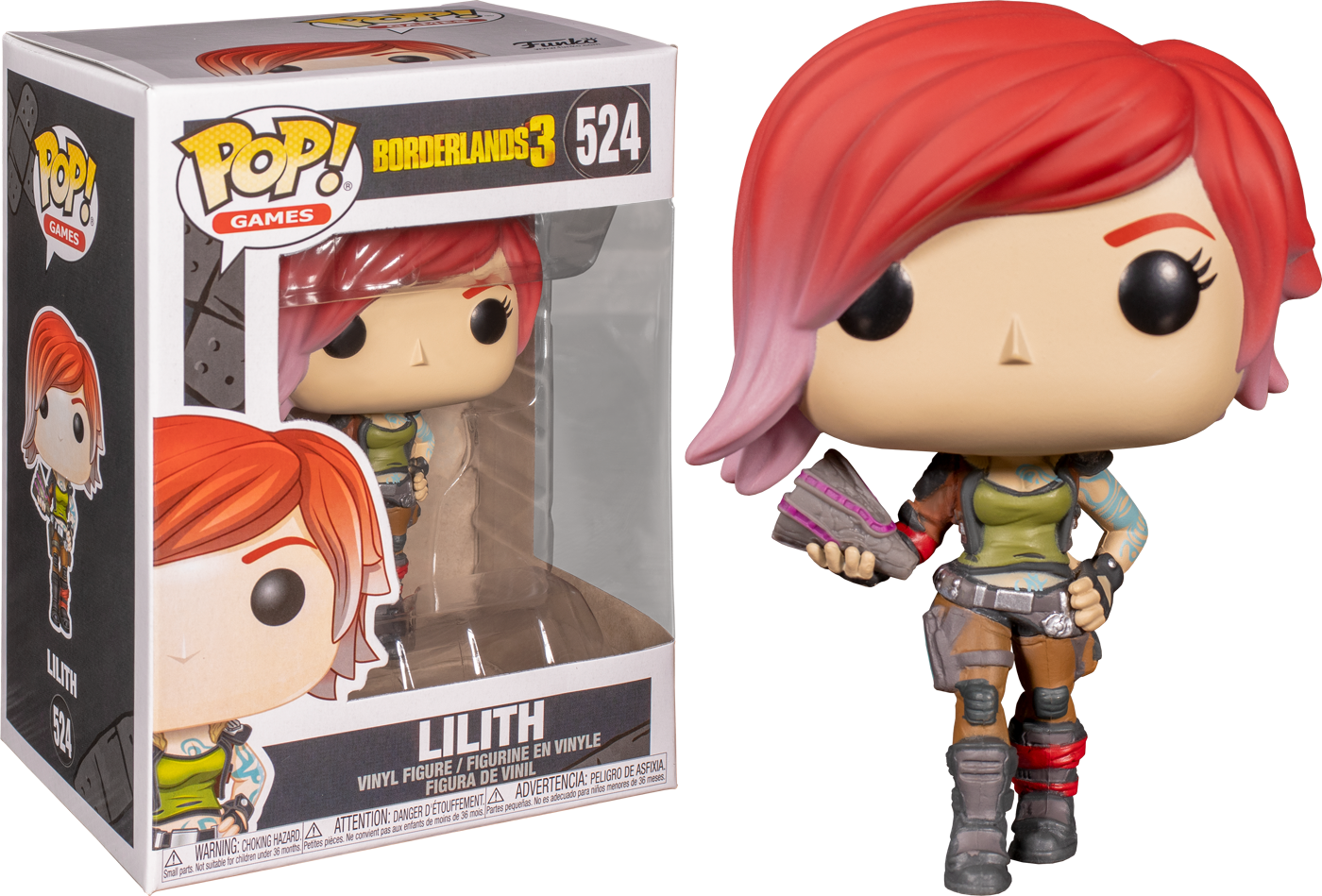 Funko Borderlands 3 Lilith Pop! Vinyl Figure